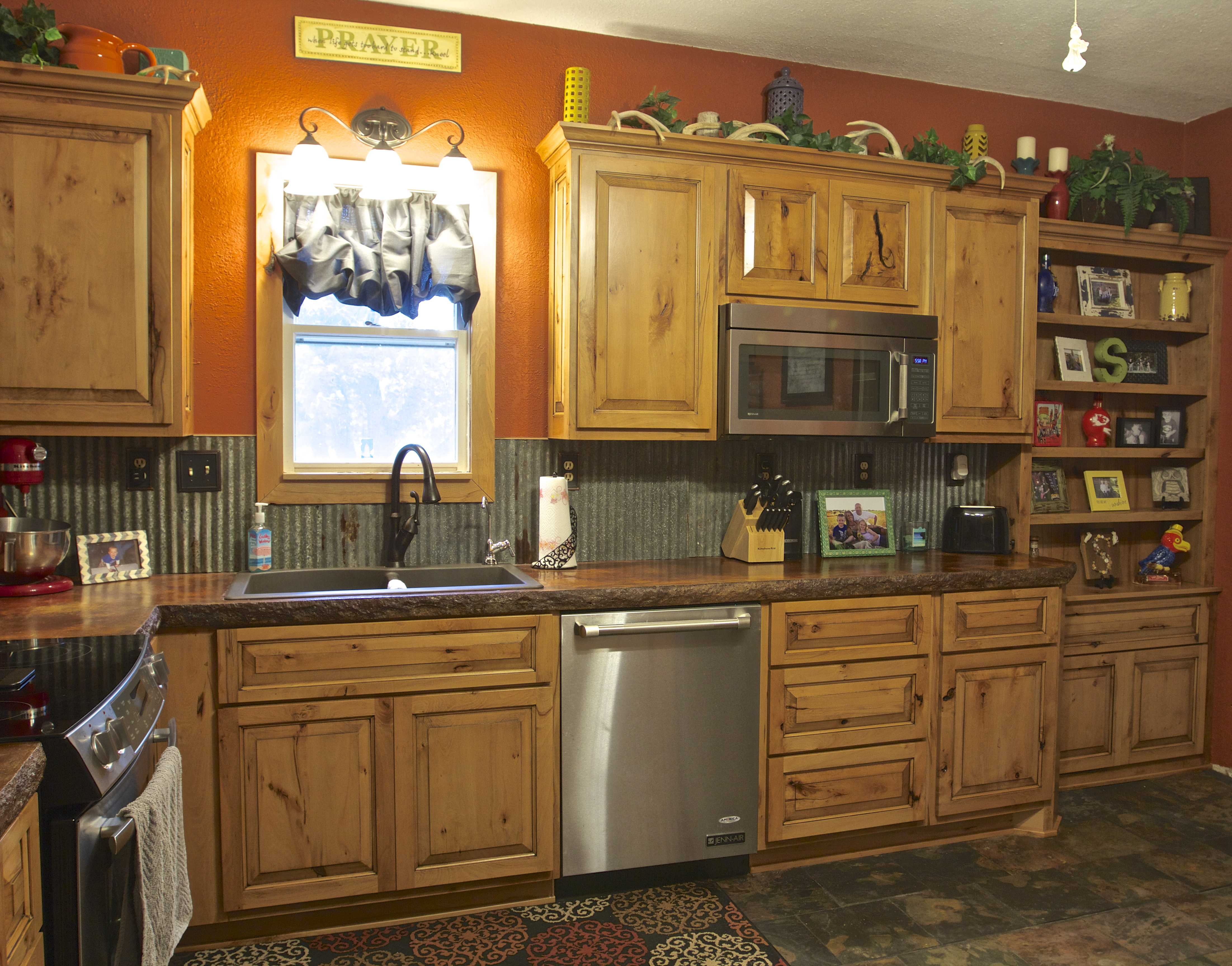 Rustic Beech Cabinets Rustic Beech Natural Glazed Saw Creations